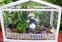 Fairy & Miniature Gardens / Magical garden ideas for the child in all of us! Visit my website/blog at http://ourfairfieldhomeandgarden.com / by Barb Rosen Our Fairfield Home & Garden