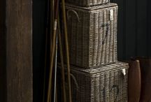 Baskets and Bins / by Rustic Wedding