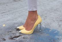 Fancy footwear / shoes / by Aishah Raffee