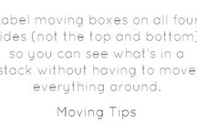 Moving & Packing Tips / by The Box Storage