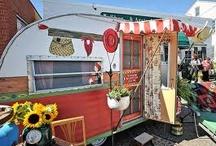 Vintage campers / by Jayne Paulowske-Singer