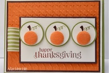 Halloween/Thanksgiving cards / by Sandra Guinaugh