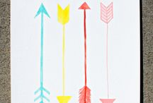 Arrows / by Sarah James | Whoorl