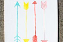 Arrows / by Sarah James | Whoorl