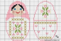 Cross-stitch / Free patterns. / by Sara Soares