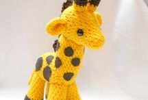 crochet toys and  animals / by Jodie Ric rac