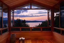 Cabin ideas & Getaways  / by Mary McRae