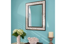 Decorative Mirrors / Mirrors are are magical element in the design of a room.  They can make a small space feel larger.  When I am working with a room with little or no windows, adding a mirror on one of the walls opens the room up and can even add light with reflection.  / by Littman Bros Lighting