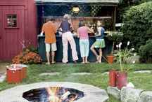 Outdoor stuff and play areas / by Debbie Wanker