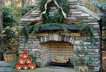 Outdoor Fireplace / by Marcella Fly