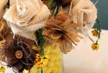 Faux Flowers & Bows / by Marilyn Otte
