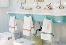 Home- Bathing Beauty / Bathrooms with style / by The Little Acorn- Bridget Kelly Designs