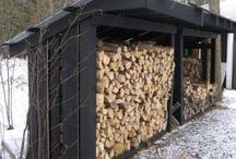 Firewood storage / by Laura Teeple