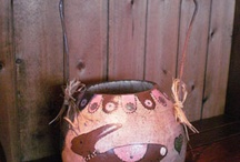Gourd Painting Inspiration / by Meadowbrooke Gourds