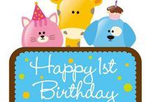 1st birthday ideas / by Sissy Tsoutsoura