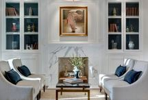 Fireplace ideas / by Amanda Berger Rosen
