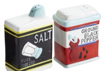 Salt and Pepper Shakers / by Donna Knutson