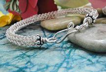 Wire Wraps - Viking Knit Jewelry / by Sherry Fox