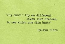 sylvia plath / by CandiceMarie