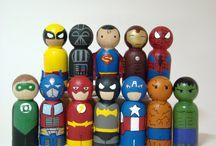 Superheroes & Villains / by Scott Milstein