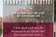 Reviews / by Foundry Park Inn & Spa
