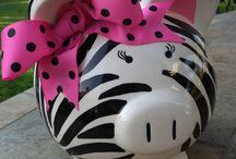 Piggy Banks / by Bobbie Endicott