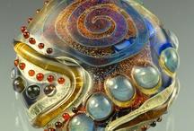 Glass beads / by Susan Shufelt
