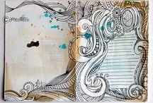 "Journal work / by Jenica ""Hen"" Frederickson"