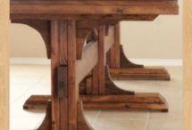 Dining room table ideas. / by Jason Harrington