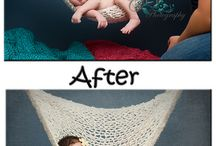 Newborn pose ideas / by Julianna Rennard