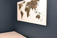 world maps art / world maps / by Laura Alena