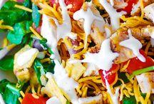 Salads  / by Wendye Johnson Taville