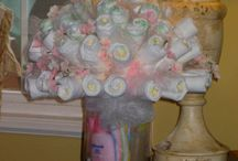 Diaper cakes / by Deloris Berry Messina