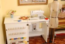 Sewing Rooms & Storage Solutions / by ASG Australian Sewing Guild Inc