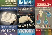 Infographie de médias sociaux / by Bianka Bernier