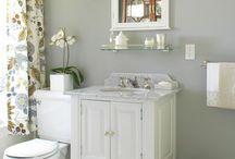 bathroom remodel / by Andrea Bradshaw