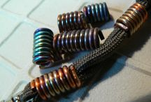 PARACORD : BEADS & CHARMS / by Betty & Gary