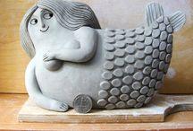 Clay & Ceramic & Stones / by susan de
