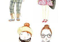 drawing fashion / by Lynsey Erin