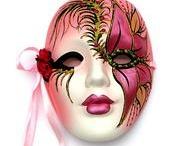 beautiful wall masks / by Mel Devito