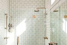 Bathrooms / Tile work / by Josh Pulliam