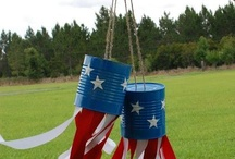 Red white and blue / Fourth of July Ideas and food / by Holly Zahn Manske