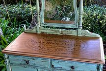 Milk Paint Distressed Furniture / by Cindy White