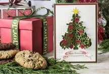 Spellinders Holiday Card Making / holiday card making inspiration / by Spellbinders