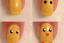 Easter nail art / by Andie Halfacre
