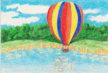 Hot Air Balloons / by Pam Whitman