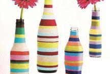 Garrafas & Vidros Lindos Reciclados / by Mara Sindermann