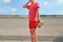 Menswear - this season / things I think are cool to wear this season. / by João P.
