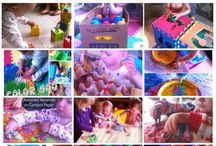 Tot School Ideas 18-24 Months / A collection of  Tot School ideas for babies ages 18-24 months. See more about Tot School here ~ http://www.1plus1plus1equals1.com/TotSchool.html / by {1plus1plus1} Carisa
