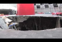 Sinkhole in the Skydome / by Corvette Museum
